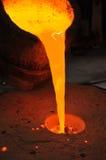 Сплавливание металла стоковое изображение rf