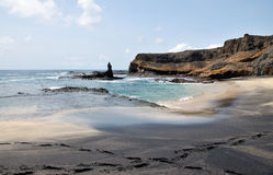 Сплавливание пляжа песка стоковое фото