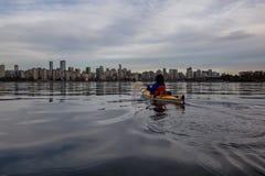 Сплавляться Ванкувера стоковое фото rf