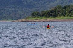 Сплавляться путешествие озера Arenal Стоковое фото RF