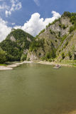 Сплавлять на реке Dunajec Стоковая Фотография