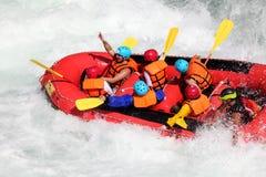 Сплавлять реки Стоковые Изображения