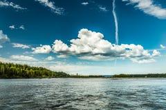 Сплавлять реки Chulitna Стоковые Фото