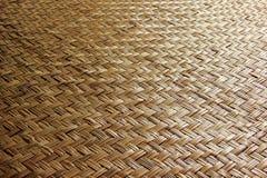 Сплетенная деревянная бамбуковая стена Стоковое Изображение RF