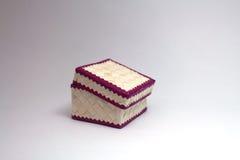 Сплетенная коробка Стоковые Фото