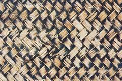 Сплетенная лозой картина ротанга Стоковые Фотографии RF