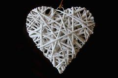 Сплетенная древесина в форме сердца Стоковое фото RF
