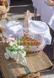 Сплетенные корзины handmade Стоковое Изображение RF