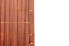Сплетенный бамбуковый красный цвет Стоковые Фотографии RF