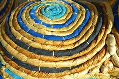Сплетенный стенд ткани и тросточки Стоковые Изображения RF