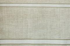 Сплетенный холст с естественными картинами Стоковая Фотография