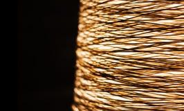 Сплетенный шпагат для того чтобы сделать по образцу люстру Стоковые Фотографии RF