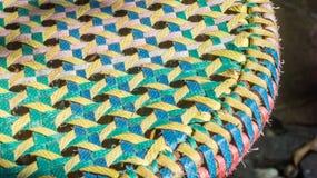 Сплетя пестротканые пластмасс-линии картина Стоковая Фотография