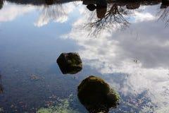 Сработанность воды и камней Стоковые Фото