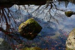 Сработанность воды и камней Стоковое Изображение