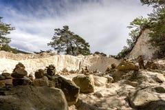 Сравнивая охры Колорадо провансальские Стоковые Фотографии RF