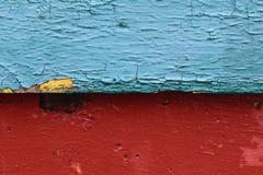 Сравнивая синь и красный цвет предпосылки Стоковое Фото
