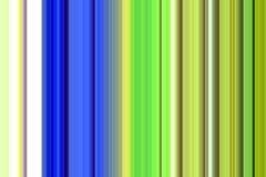 Сравните голубой зеленый цвет и phoshorescent линии, предпосылку Стоковое Изображение