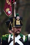 Сражение Аустерлица, также известное как сражение 3 императоров, было одной из побед Наполеона больших, где Fren Стоковое Фото