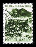 Сражение Bezzecca, столетие сражения serie Bezzecca, c стоковое фото rf