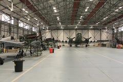 Сражение RAF ангара полета Британии мемориального Стоковые Изображения RF