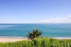 Средиземное море Испания ландшафта одичалая Стоковое фото RF