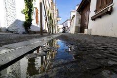 Среди улиц Sigacik Стоковое Изображение RF