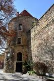 Средневековая башня Стоковые Изображения RF