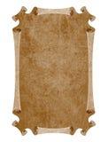 средневековая бумага Стоковое фото RF