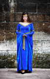 средневековая женщина Стоковое Фото