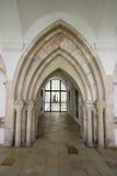 Средневековая каменная арка Стоковые Изображения