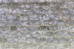 Средневековая кирпичная стена как предпосылка E стоковое изображение rf