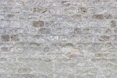 Средневековая кирпичная стена как предпосылка E стоковое изображение