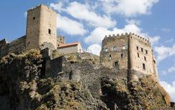 Средневековая крепость Khertvisi, в Южной Георгие Стоковое фото RF
