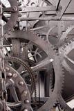 Средневековая передача астрономических часов (Wheelwork) Стоковое Изображение RF