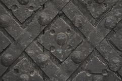Средневековая предпосылка металла Стоковая Фотография RF