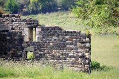 средневековая стена Стоковые Изображения