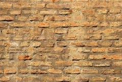 средневековая стена Стоковое Изображение