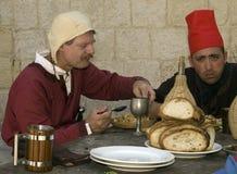 средневековая харчевня Стоковые Фото