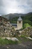 Средневековая церковь Стоковое Изображение
