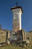 средневековое вероисповедание памятника Стоковое Изображение