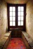 средневековое окно Стоковые Изображения