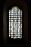 Средневековое цветное стекло Стоковое фото RF