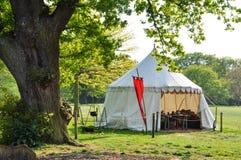 Средневековое шатёр уклада жизни Стоковые Изображения