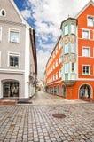 Средневековое lech Landsberg am городка, Германия Стоковое фото RF