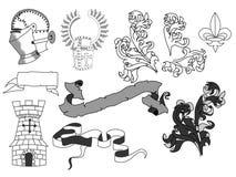 средневеково иллюстрация штока