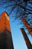средневековые башни стоковые фото