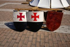 Средневековые деревянные экраны стоковые фото