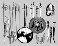 средневековые оружия Стоковое Фото