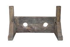 средневековые штоки наказания Стоковое Изображение